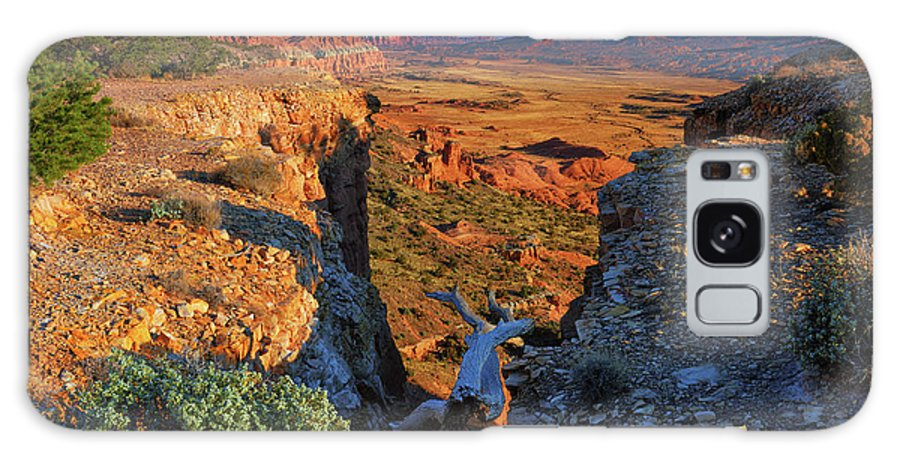 Capitol Reef National Park Galaxy Case featuring the photograph Capitol Reef South Desert by Greg Norrell