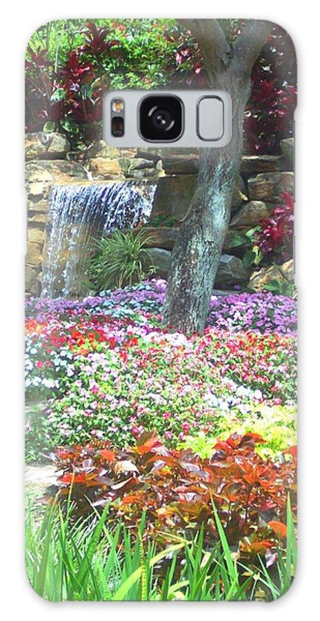 Garden Galaxy S8 Case featuring the photograph Floral Garden by Pharris Art