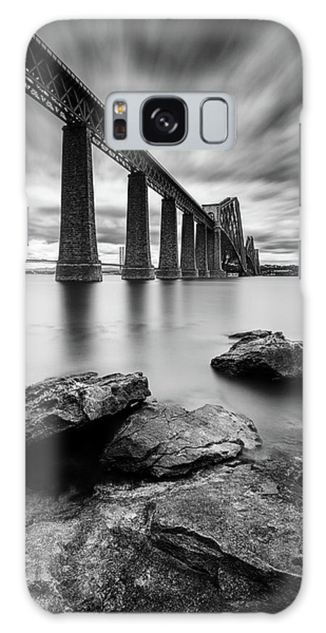 Forth Bridge Galaxy Case featuring the photograph Forth Bridge by Dave Bowman