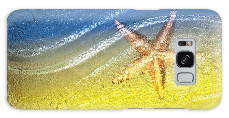 Starfish Galaxy S8 Case featuring the photograph Going With the Flow by Holly Kempe