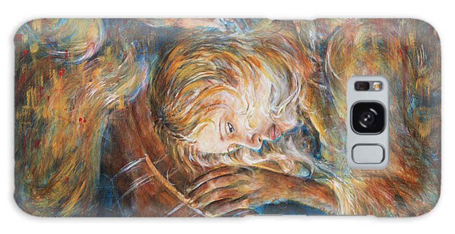 Mary Magdalene Galaxy S8 Case featuring the painting I Cried For You by Nik Helbig