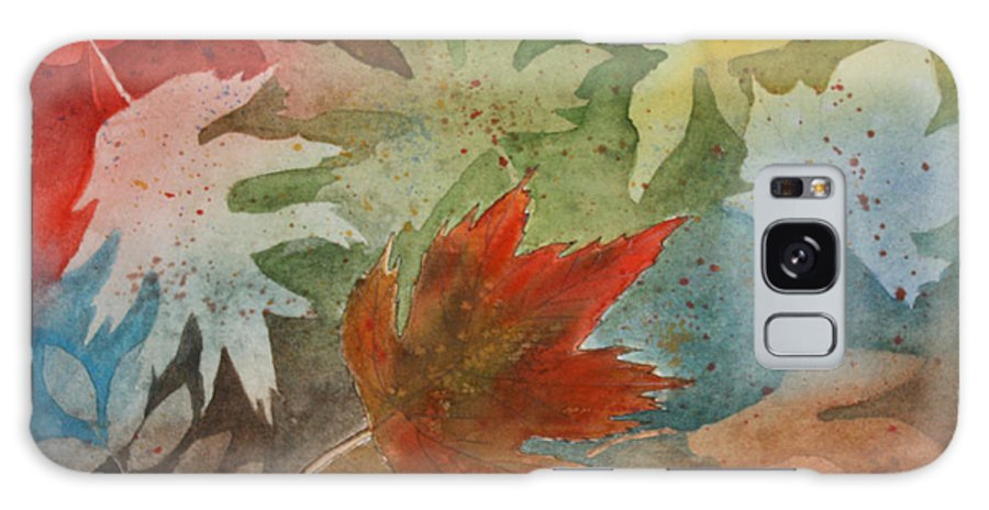 Leaves Galaxy S8 Case featuring the painting Leaves II by Patricia Novack