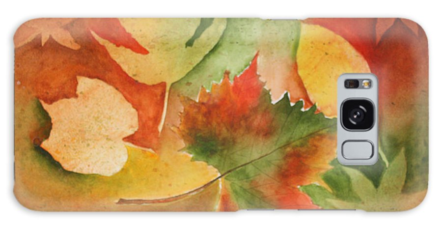 Leaves Galaxy S8 Case featuring the painting Leaves III by Patricia Novack