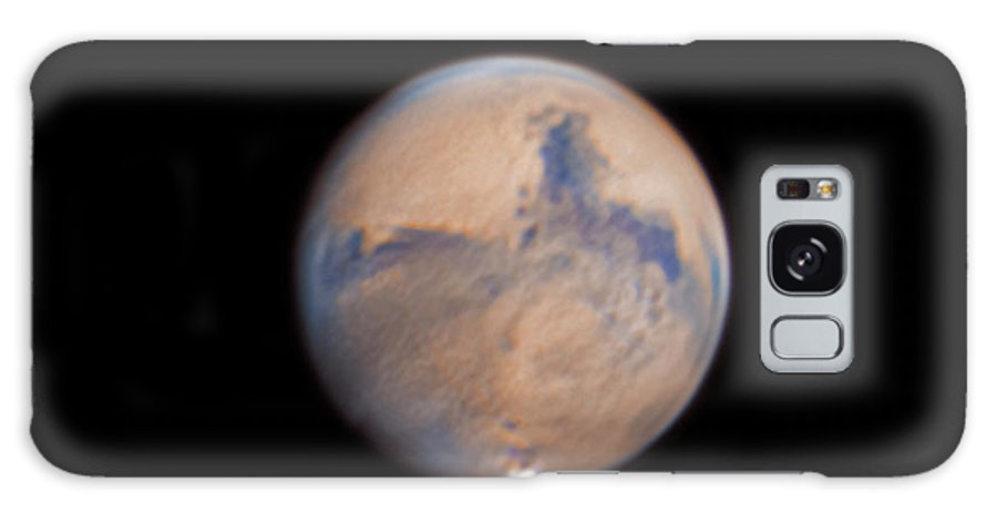 Mars Galaxy Case featuring the photograph Mars from 31st October 2020 by Prabhu Astrophotography