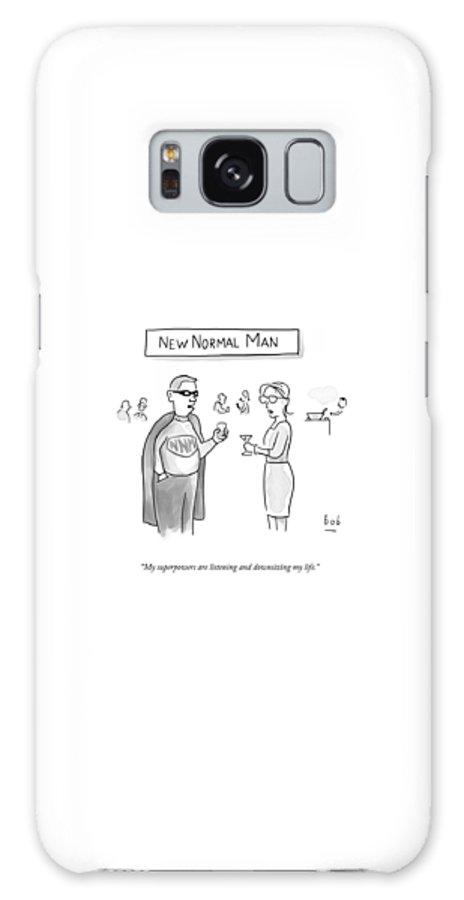New Normal Man Galaxy S8 Case