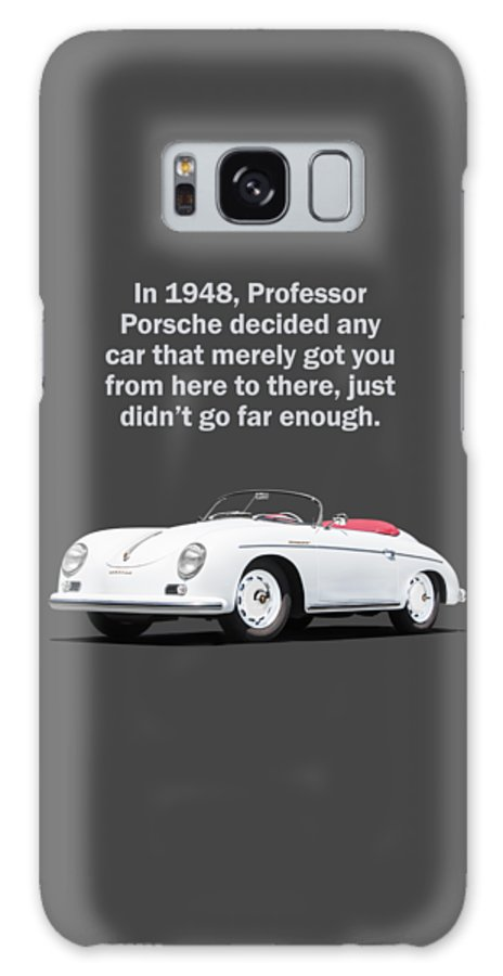 Porsche Galaxy Case featuring the photograph Professor Porsche by Mark Rogan