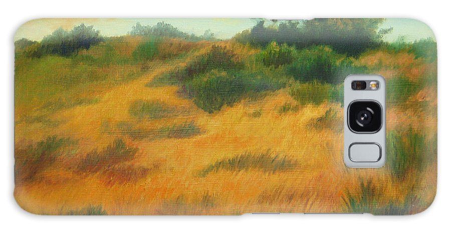 Cape Cod Scene Galaxy S8 Case featuring the painting Province Lands Cape Cod by Phyllis Tarlow