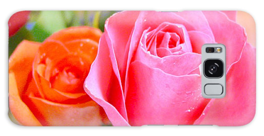 Roses Galaxy S8 Case featuring the photograph Roses by Jodi Bauter