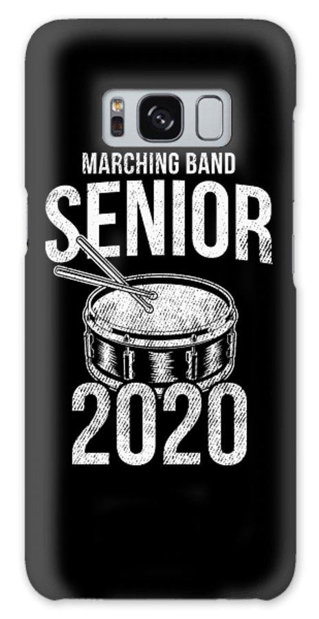 Teacher Galaxy Case featuring the digital art Senior Graduation 2020 Marching Band Drummer Gift by Haselshirt