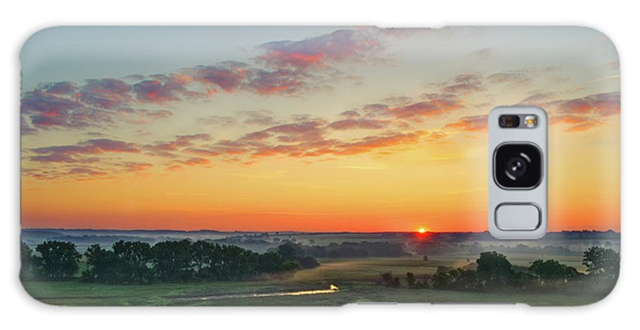 Sunrise Galaxy Case featuring the photograph Sunrise From O'Brien No.1 by Bruce Morrison