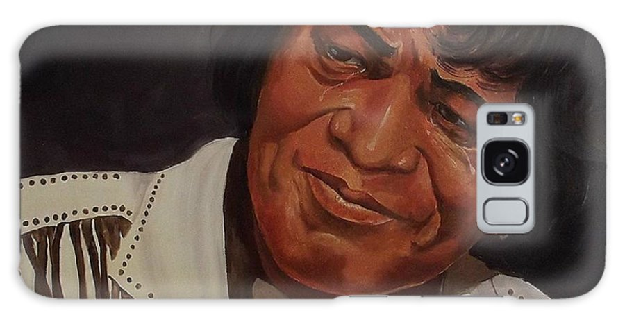 James Brown Galaxy S8 Case featuring the painting Tears Of Joy by Wanda Dansereau