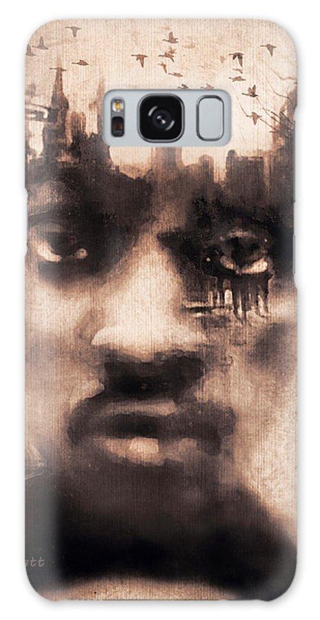 Digital Image Galaxy Case featuring the digital art Urban Mindset by Regina Wyatt