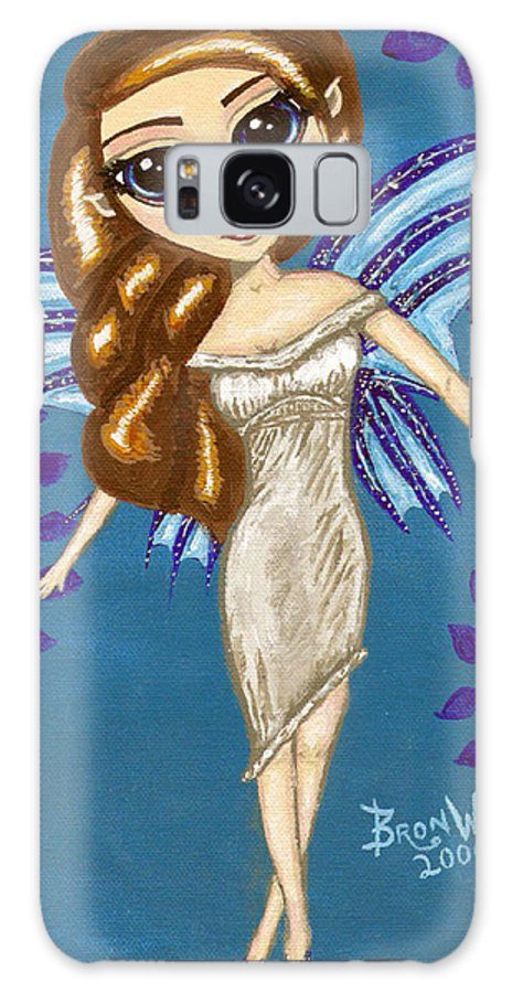 Fairy Galaxy S8 Case featuring the painting Water Element Fairy by Bronwen Skye