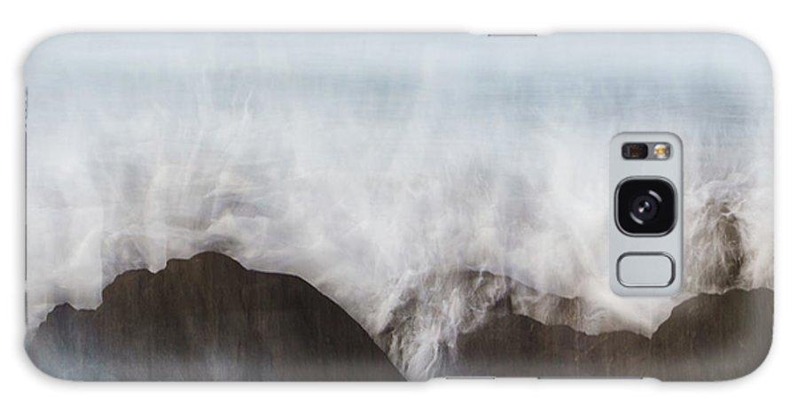 Abstract Galaxy Case featuring the photograph Wavecrash by Bear R Humphreys