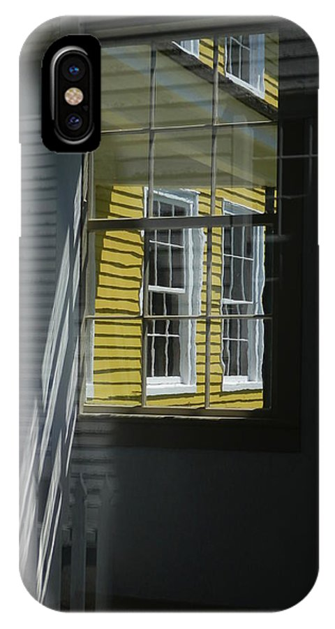 Marcia Lee Jones IPhone X Case featuring the photograph A Bit Of Yellow by Marcia Lee Jones