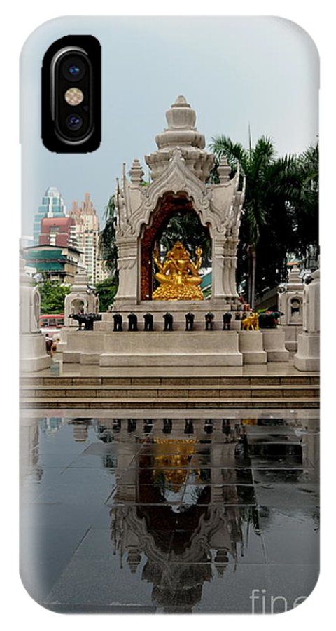 Michelle Meenawong IPhone X Case featuring the photograph After Rain by Michelle Meenawong