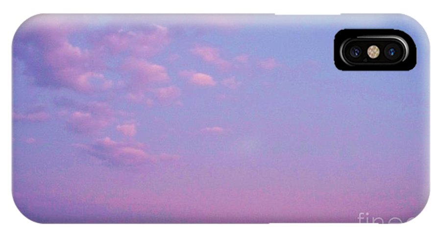Cape May Point IPhone X Case featuring the photograph Cape May Point Lake And Clouds by Eric Schiabor