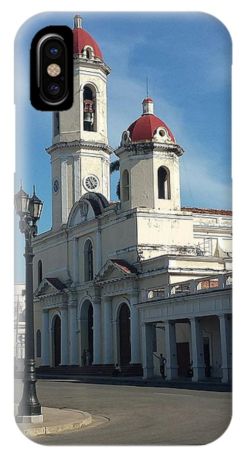 Catedral IPhone X Case featuring the photograph Catedral Mi Ciudad. by Pedro Manuel Studio