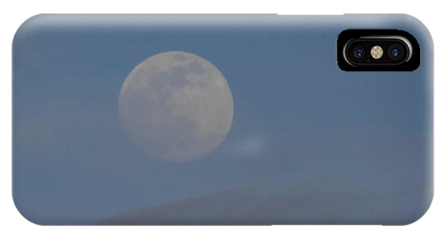 Full Moon IPhone X Case featuring the photograph Florida Moon by Loreena Williams