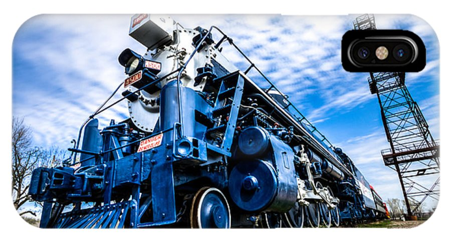 Train IPhone X Case featuring the photograph Locomotive by Jerad Roberts