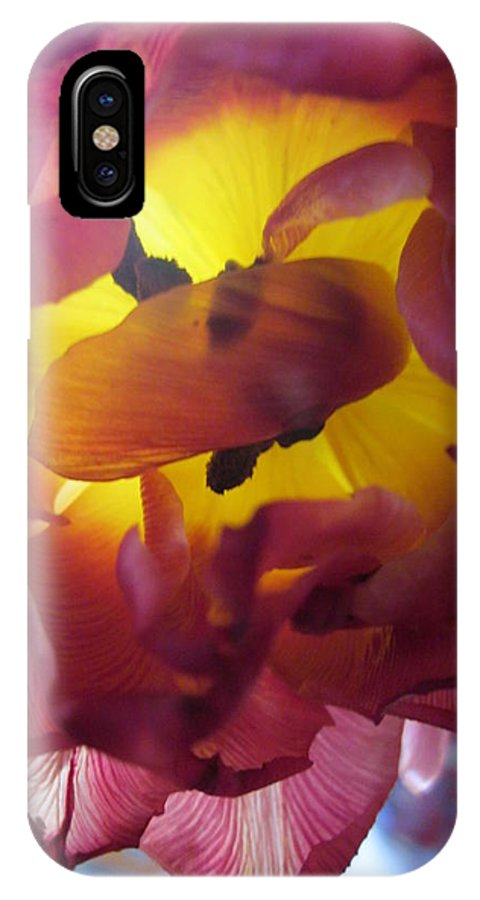 Flowers IPhone X Case featuring the photograph Rip by Rosita Larsson