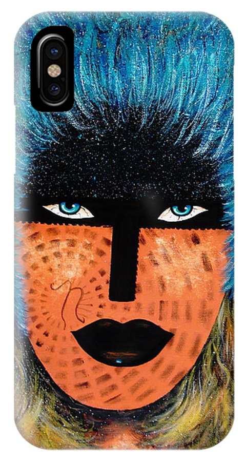 Woman IPhone Case featuring the painting Viva Niva by Natalie Holland