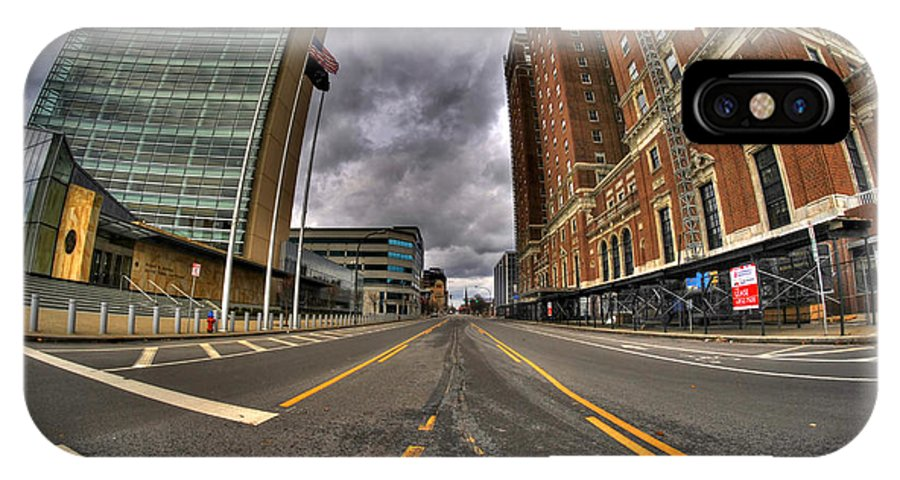 Michael Frank Jr IPhone X / XS Case featuring the photograph 0011 Delaware Ave by Michael Frank Jr