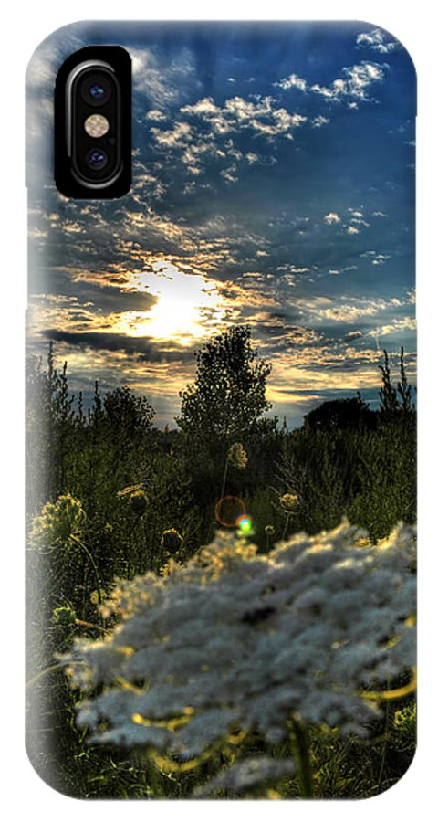 Buffalo IPhone X Case featuring the photograph 003 Life Is Beautiful by Michael Frank Jr