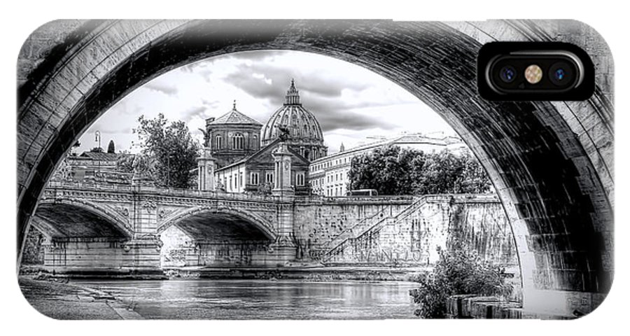 St. IPhone X Case featuring the photograph 0750 St. Peter's Basilica by Steve Sturgill