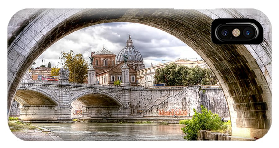 St. IPhone X Case featuring the photograph 0751 St. Peter's Basilica by Steve Sturgill