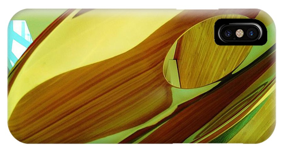 Wood IPhone X Case featuring the photograph 08212013045 by Debbie L Foreman