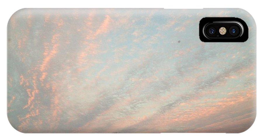 Landscape IPhone X Case featuring the photograph 08252013011 by Debbie L Foreman