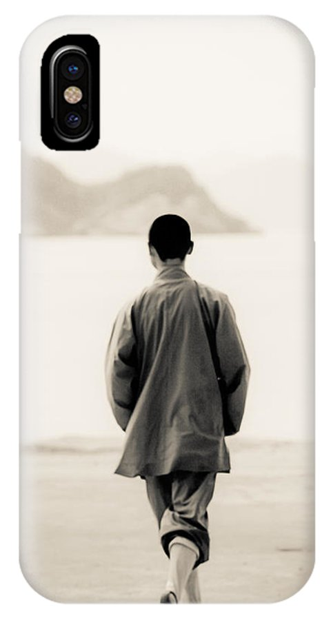 China IPhone X Case featuring the photograph 0052 by Matthew Pace