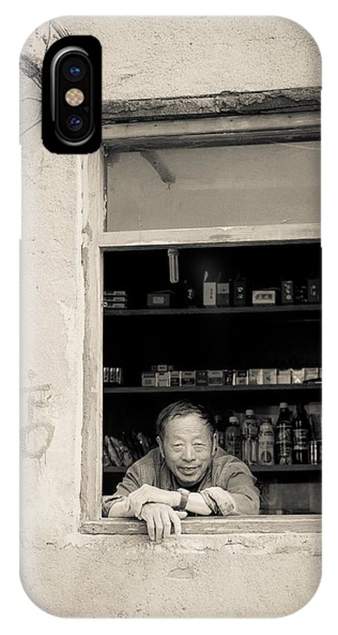 China IPhone X Case featuring the photograph 0706 by Matthew Pace