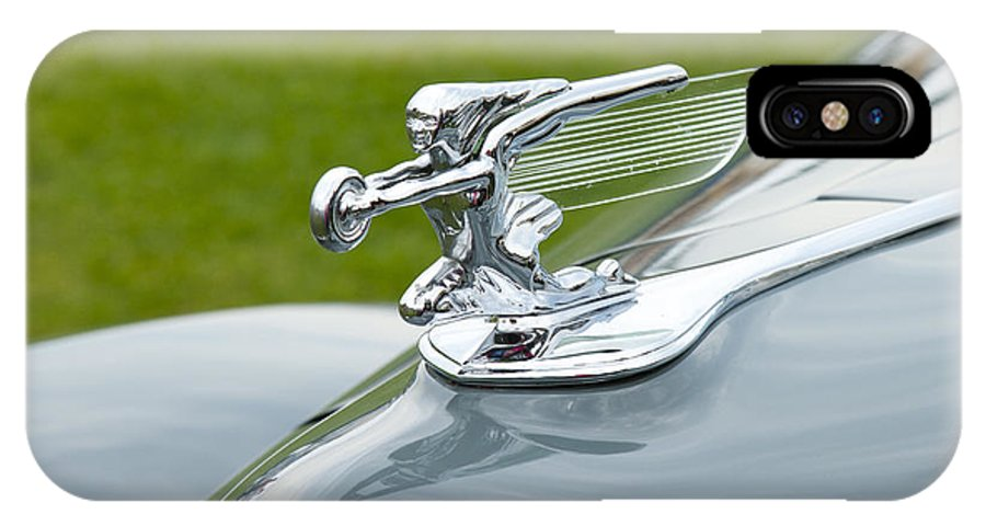 Glenmoor IPhone X Case featuring the photograph 1940 Packard by Jack R Perry