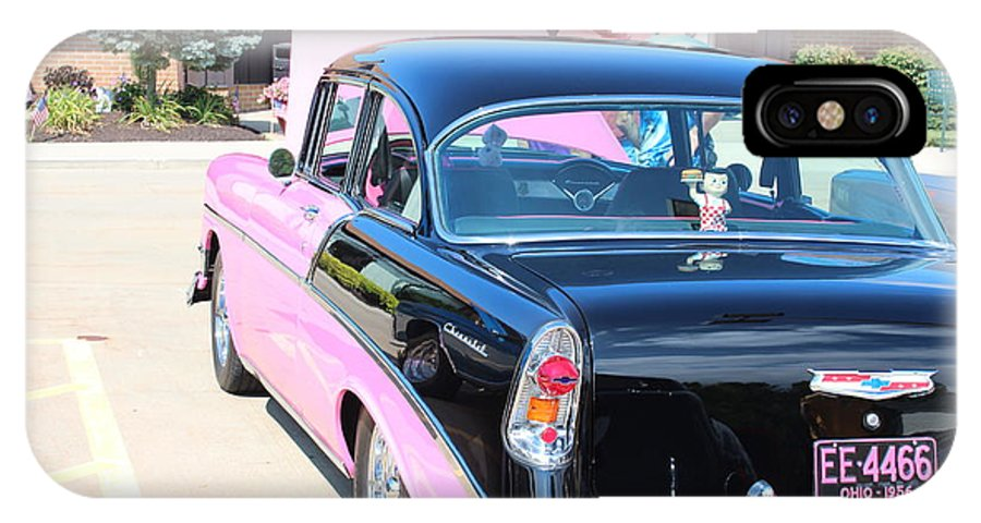 IPhone X Case featuring the photograph 1956 Chevrolet by R A W M
