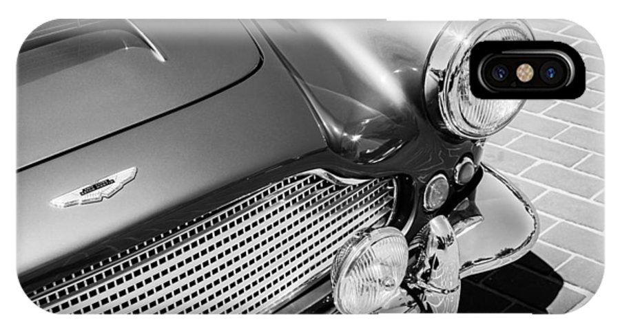1960 Aston Martin Db4 Series Ii Grille IPhone X Case featuring the photograph 1960 Aston Martin Db4 Series II Grille by Jill Reger