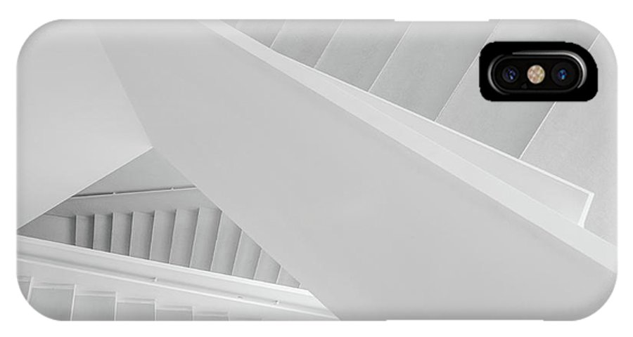Architecture IPhone X Case featuring the photograph 1-2-3 by Dong Hee Han