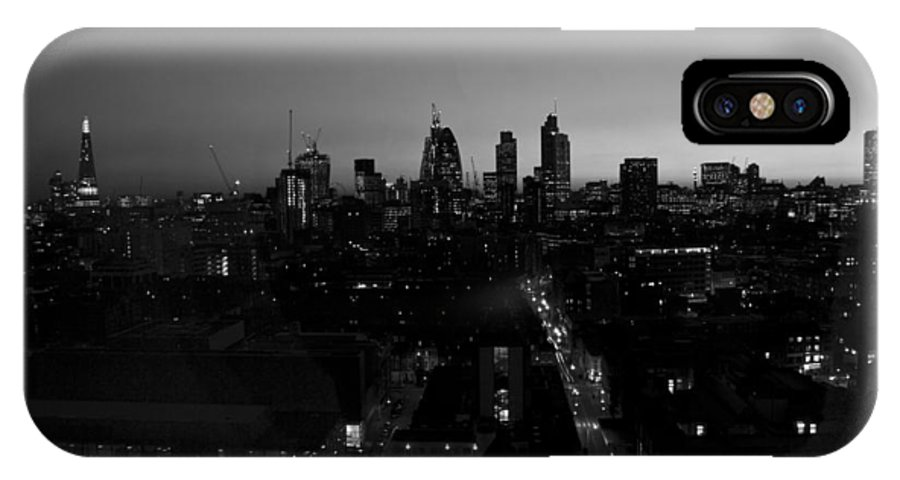 City IPhone X Case featuring the photograph 2013 City Of London Skyline by David French