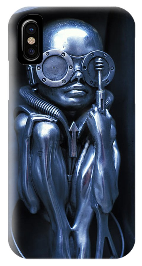 Alien IPhone X Case featuring the photograph Alien Baby by Carl Purcell