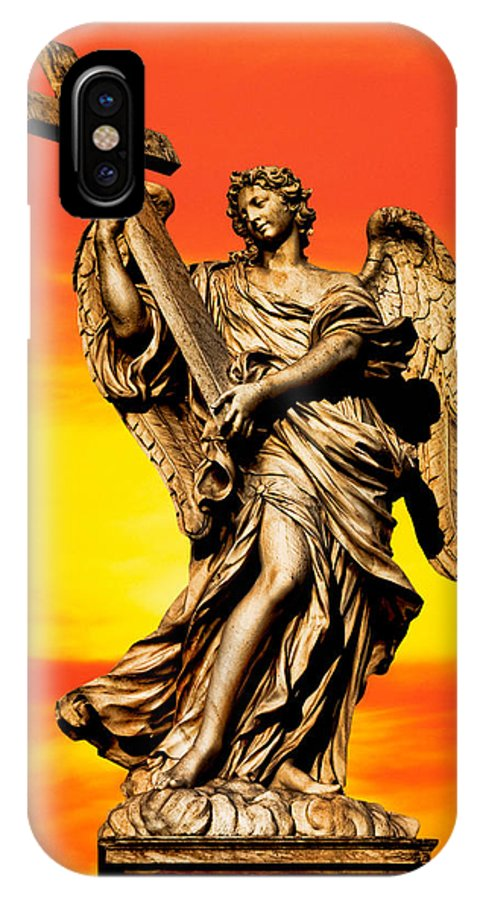Angel IPhone X Case featuring the photograph Angel by David Davis