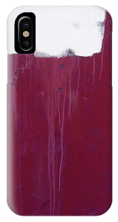 Art Homage Helen Frankenthaler Casa Grande Arizona 2004 IPhone X Case featuring the photograph Art Homage Helen Frankenthaler Casa Grande Arizona 2004 by David Lee Guss