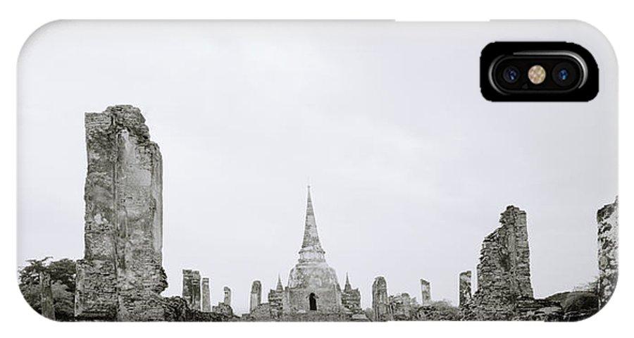 Ayutthaya IPhone X Case featuring the photograph Ayutthaya by Shaun Higson