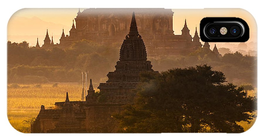 Myanmar IPhone X Case featuring the photograph Bagan - Myanmar by Luciano Mortula