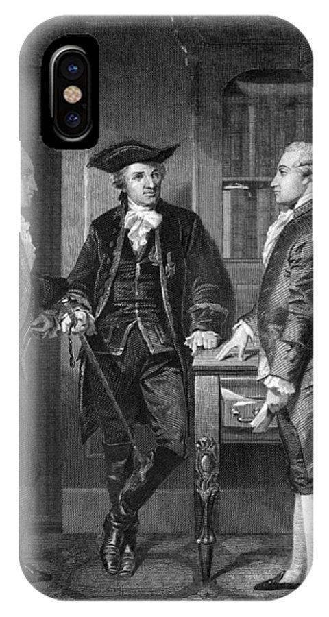 1776 IPhone X Case featuring the photograph Baron De Kalb (1721-1780) by Granger