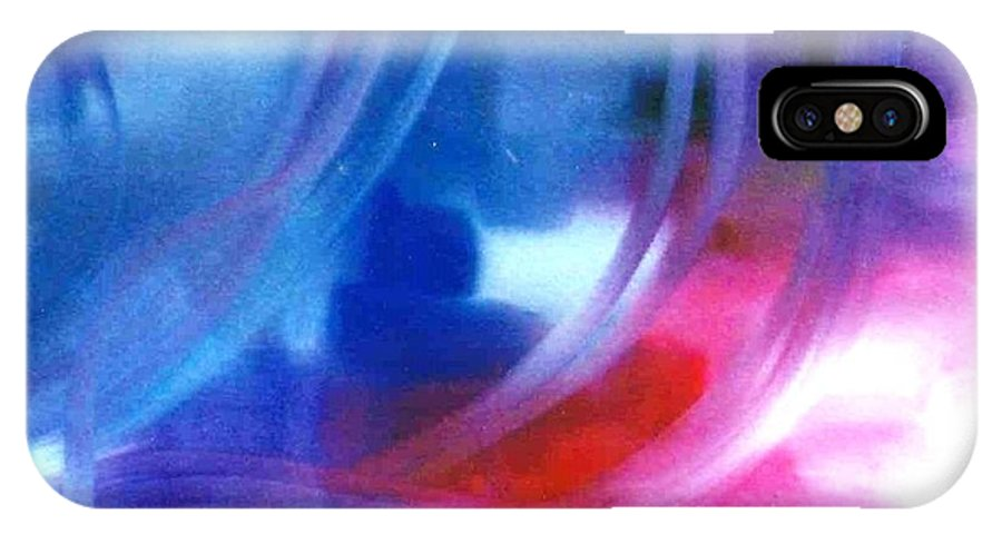 Lyle IPhone X Case featuring the painting Blue by Lord Frederick Lyle Morris - Disabled Veteran