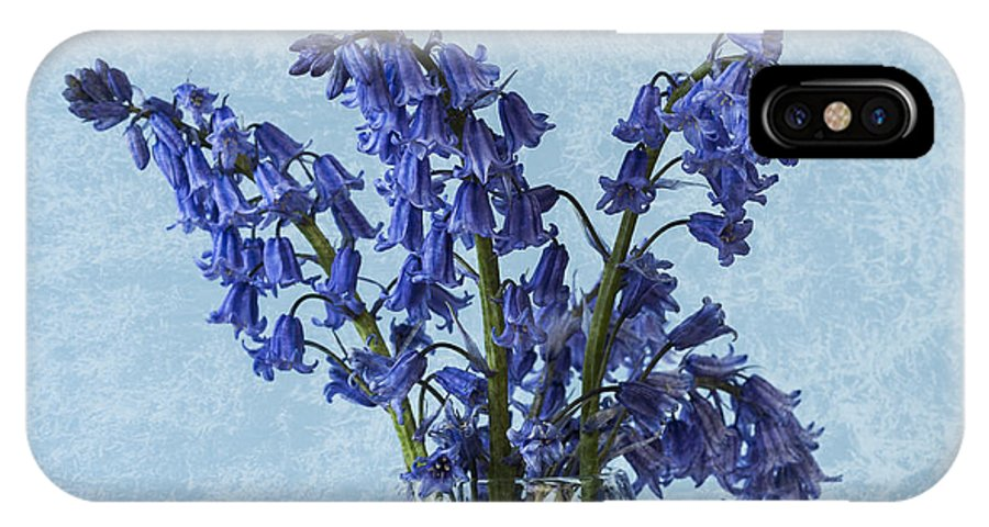 Bluebell IPhone X Case featuring the photograph Bluebells 1 by Steve Purnell