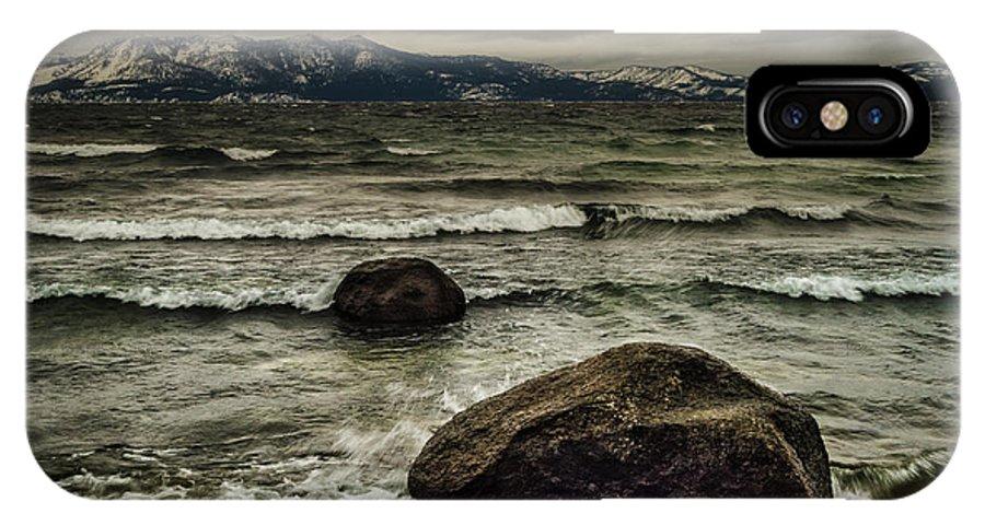 Broken IPhone X Case featuring the photograph Broken by Mitch Shindelbower