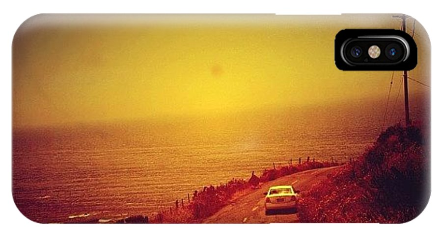 Summer IPhone X Case featuring the photograph Cape Mendocino by Jill Battaglia