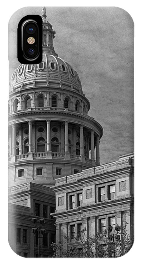 Austin IPhone X Case featuring the photograph Capitol At Dawn by Jim Smith